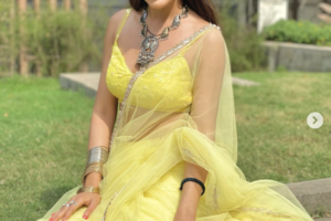 Surbhi Chandna yellow dress